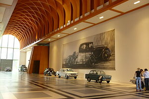 Louwman Museum - Image: Louwman entree