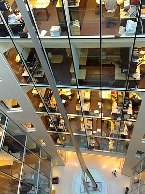 Hogan Lovells - Image: Lovells London office atrium, Holborn