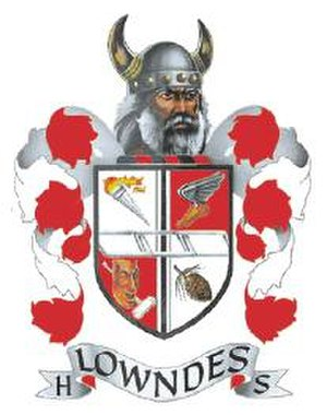Lowndes High School - Image: Lowndescoatofarms