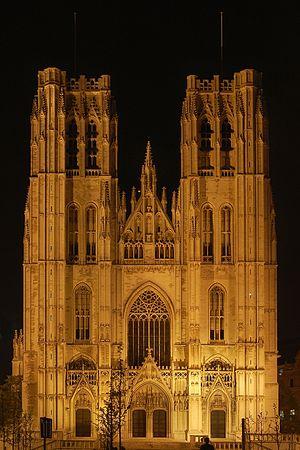 Luc Viatour Bruxelles Catedrale ST-Michel.JPG
