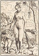 Lucas Cranach the Elder, Venus and Cupid, dated 1506 (probably executed c. 1509), NGA 43175.jpg