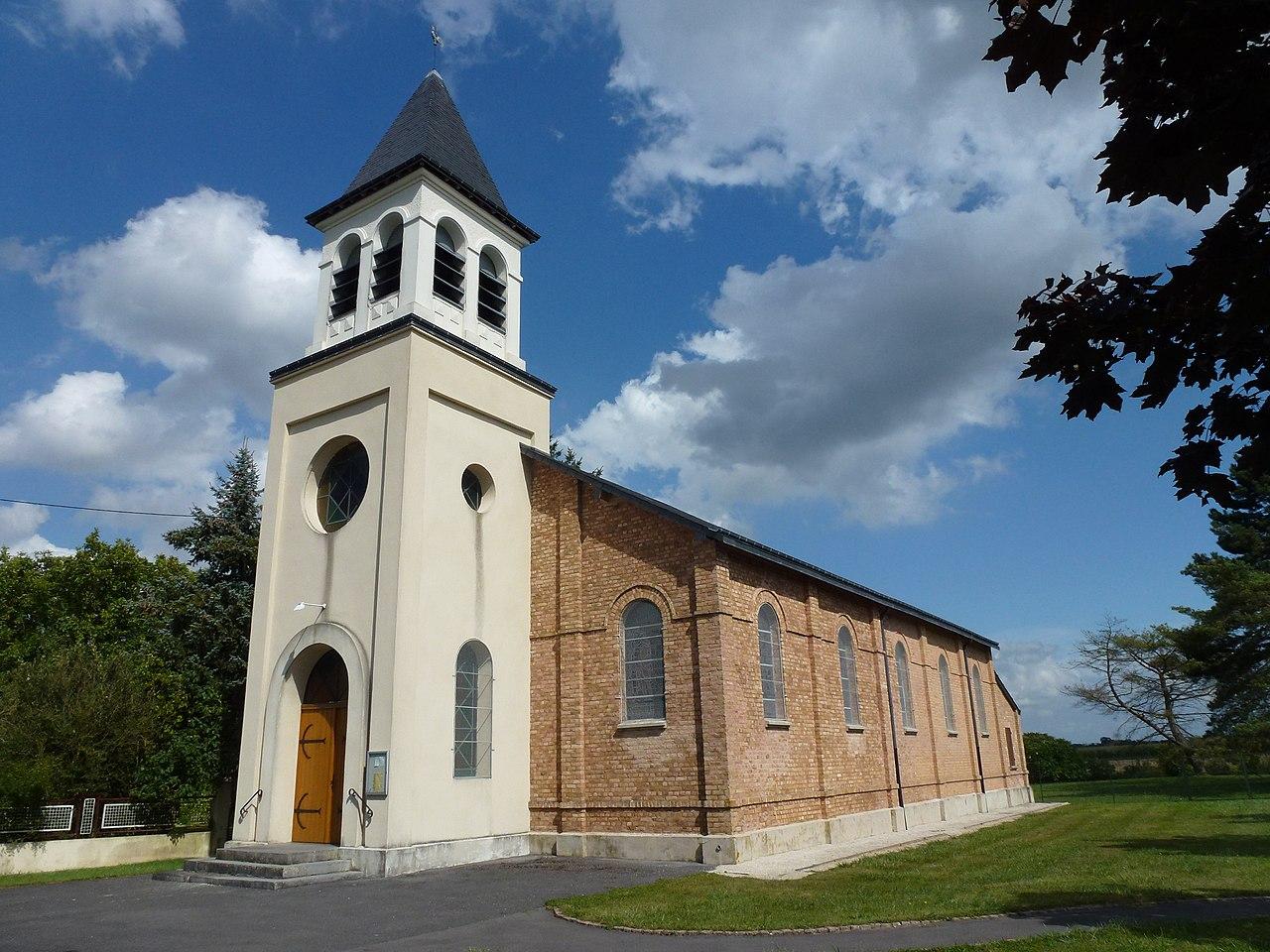 Lucquy (Ardennes) église.JPG