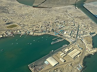 Lüderitz - Bird's eye view of Lüderitz (May 2017)