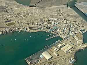 뤼데리츠: Luderitz bird's eye view