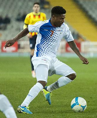 Platini (Cape Verdean footballer) - Platini in action for Cape Verde in 2013