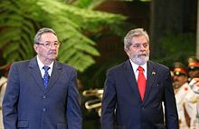 220px Lula and Raul Castro