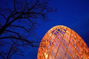 image of Luminale 2012 - OVO mit Baum