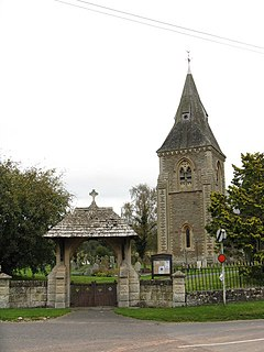 Lych gate and tower of Stoke Lacy church - geograph.org.uk - 1005871.jpg