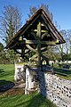 Lychgate of St Mary's Church, Great Canfield, Essex 01.jpg