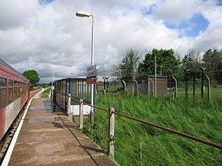 Lympstone Commando railway station Railway station in the Devon, England