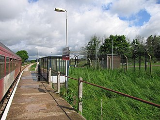 Lympstone Commando railway station - Image: Lympstonecommandon