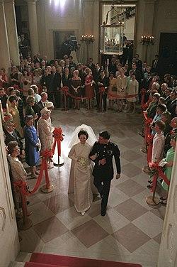 Lynda Bird Johnson and Charles Robb wedding.jpg
