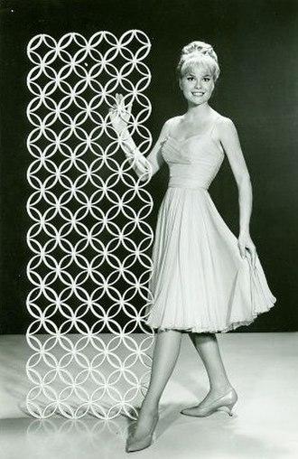 Lynn Borden - Borden in CBS Television publicity photo (1962)