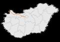 M1 autópálya - térkép.png