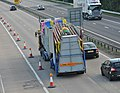 M42 Motorway - Fairground articulated vehicle - geograph.org.uk - 1364739.jpg
