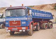 MAN 16-230FS Kippsattelzug