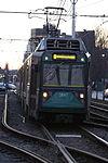 MBTA 3847 at Northeastern pocket track, January 2008.jpg