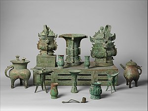 Objek Perunggu Ritual Tiongkok Wikipedia Bahasa Indonesia