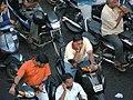 MG road Thiruvananthapuram Traffic.jpg