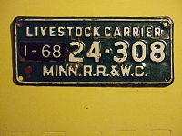 MINNESOTA 1968 -LIVESTOCK CARRIER PLATE -24-308 - Flickr - woody1778a.jpg