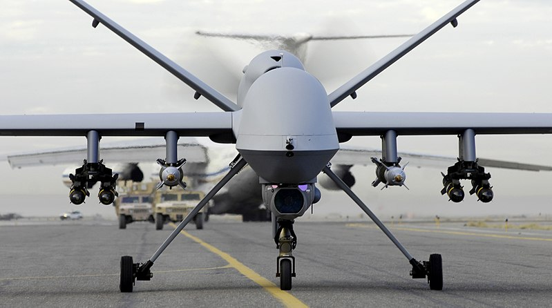 Pakistan Interior Minister: 80% Killed By Drones Are Innocents 800px MQ 9 Reaper taxis