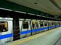 MRT rolling stock at Platform 4, CKS Memorial Hall Station 20101211.jpg
