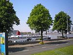 Maasboulevard Raderstoomboot-De-Majesteit Rotterdam Nederland.JPG
