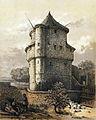 Maastricht, vm Wycker Kruittoren (A Schaepkens, ca 1840).jpg