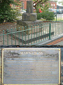 Mab's Cross is a Grade II* listed building Mab's Cross 2005.jpg