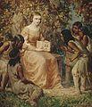 Madame Champlain enseignant aux enfants indiens, 1620.jpg