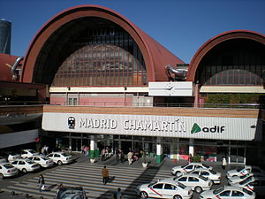 Madrid Chamartín railway station - Image: Madrid chamartin