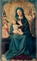 Maestro della Madonna Cagnola - Madonna col Bambino e sei angeli, tavola, 1460-1470 ca.png