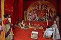 Maha Saptami Puja - Durga Puja Pandal - Biswamilani Club - Padmapukur Water Treatment Plant Road - Howrah 2015-10-20 6070.JPG