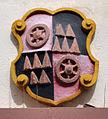 Mainz Weihergarten 6 Wappen Erzbischof Wambolt von Umstadt.jpg