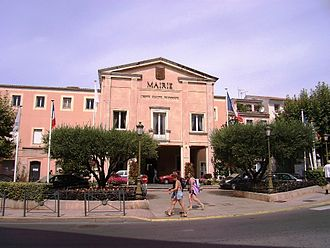 Saint-Raphaël, Var - The town hall of Saint-Raphaël