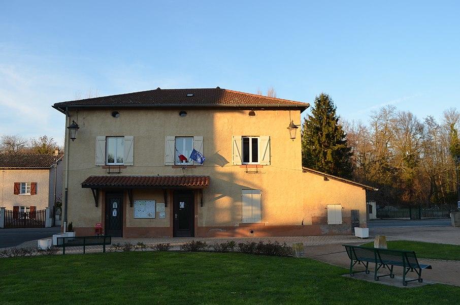 Mairie de Toussieux.