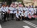 Malaysian traffic cops 57th NDP.JPG