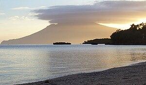 Mount Malindig - Sunset over Mt. Malindig