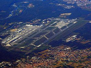 Milan–Malpensa Airport - Image: Malpensa Airport aerial view