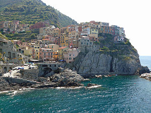 "One of the 5 villages known as ""Cinque Te..."