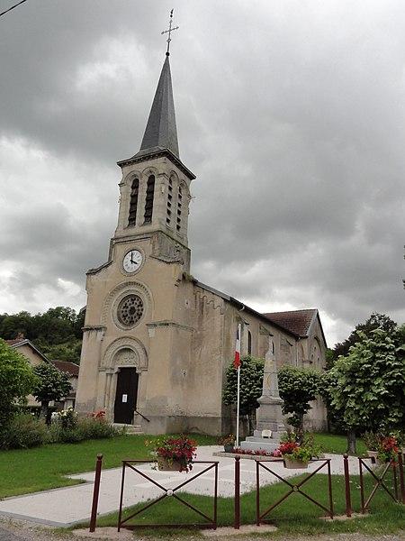 Mangonville (M-et-M) église