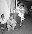Manzanar Relocation Center, Manzanar, California. A typical interior scene in one of the barrack ap . . . - NARA - 538136.jpg