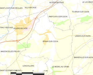 Map commune FR insee code 14241.png