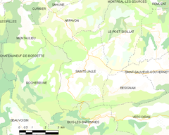 Map commune FR insee code 26306.png