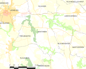 Map commune FR insee code 29255.png