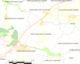 Map commune FR insee code 35282.png