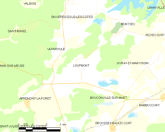 Map commune FR insee code 55303.png