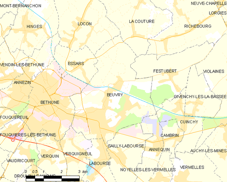 Archivo:Map commune FR insee code 62126.png