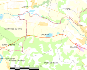 Map commune FR insee code 64305.png