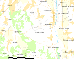 Map commune FR insee code 65392.png